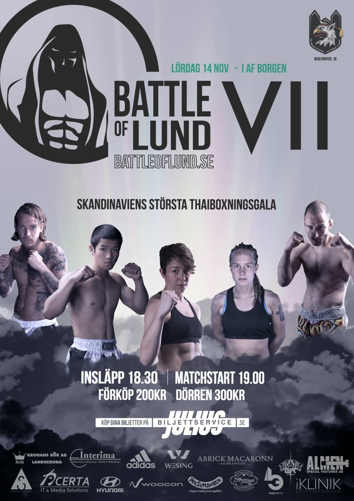 Battle of Lund 7 poster