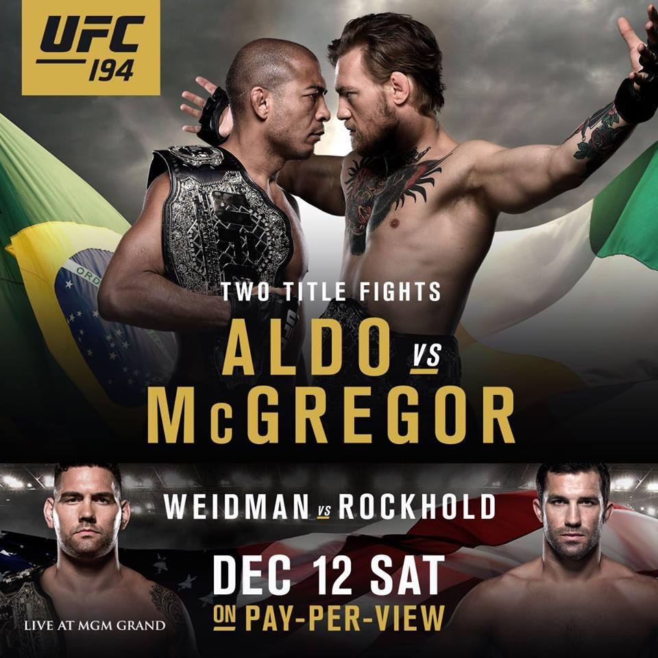 Extended preview inför UFC 194